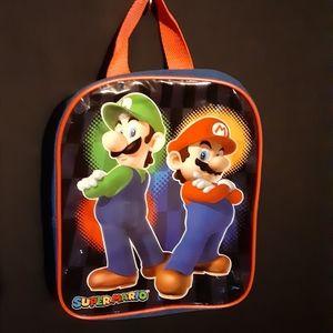"Super Mario back pack 9x11"""